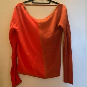 Thakoon beautiful two-tone two material blouse